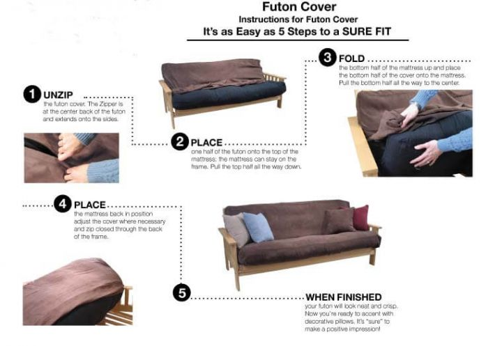 Futon Cover Installation & Fitting Guide