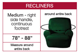 Recliner measuring